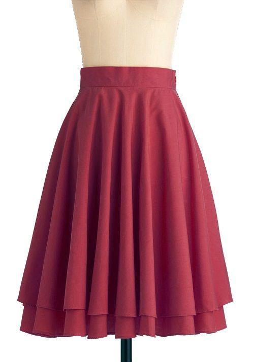бордовая юбка татьянка фото