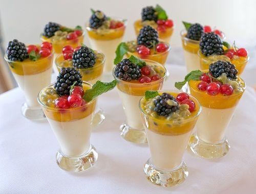 фруктовый десерт на день рождения фото