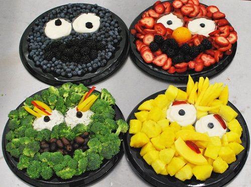 оригинальное оформление детских блюд фото