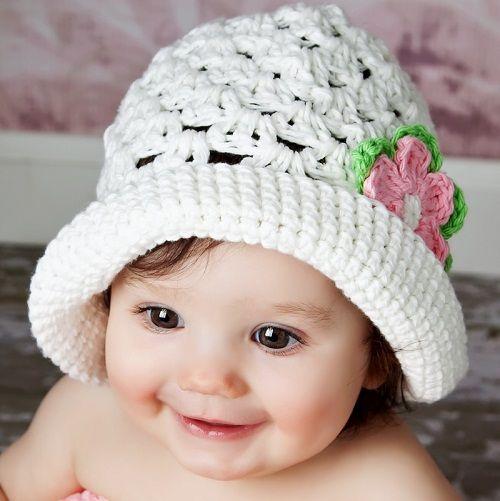 панамка для маленькой девочки фото
