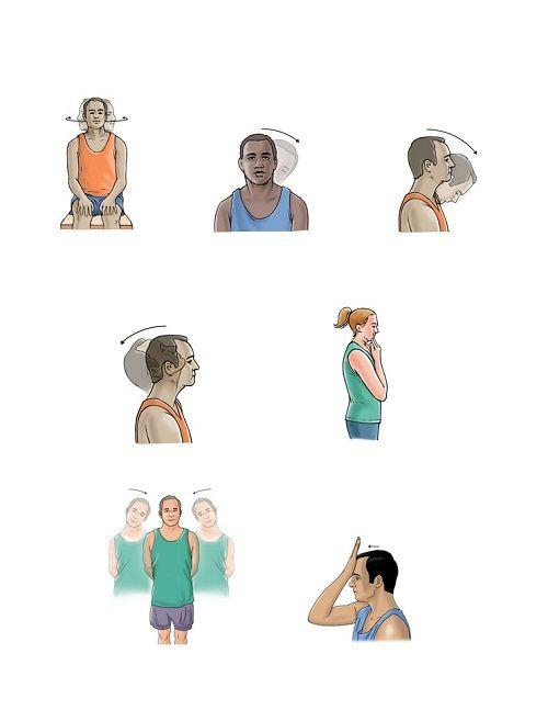 упражнения при остеохондрозе фото