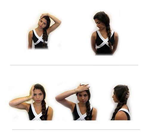 выполнение гимнастики для шеи фото