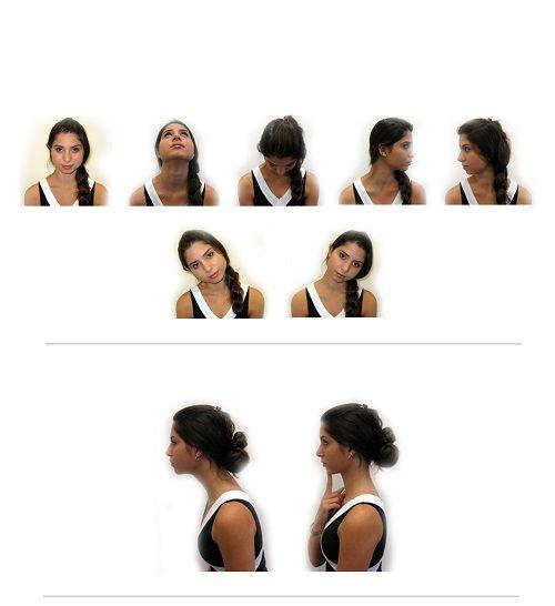 упражнения гимнастики для шеи фото
