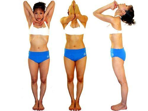 упражнения для шеи с использованием рук фото
