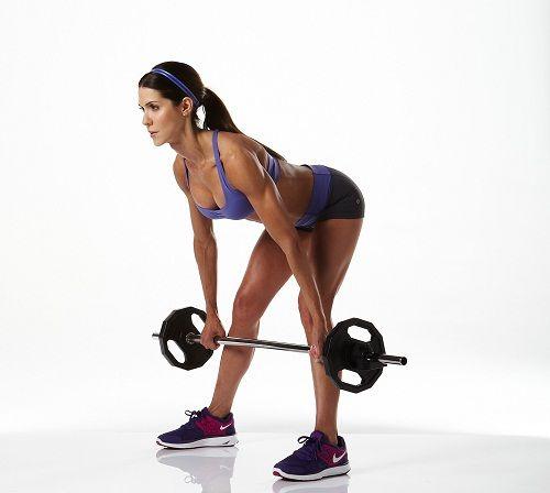 упражнения со штангой фото