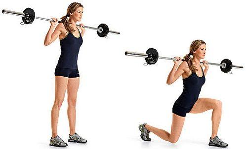 упражнения для спины со штангой фото