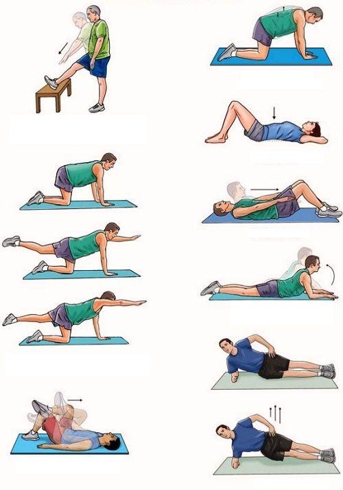 комплекс для укрепления мышц спины фото