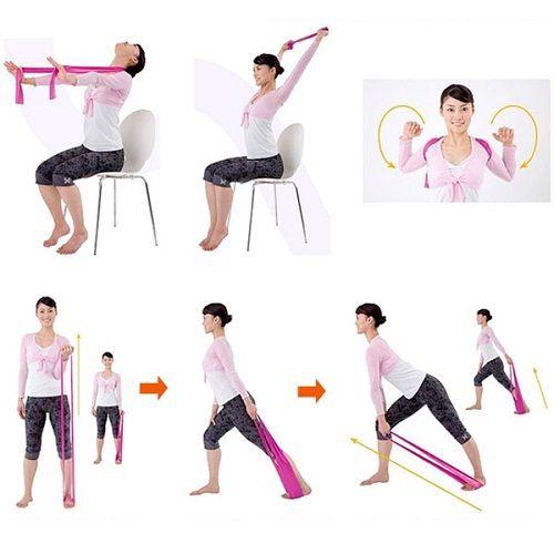упражнения для шеи фото
