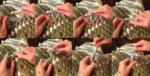 техника вязания фото
