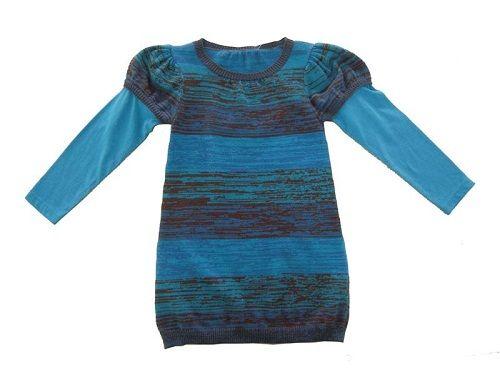 вязаное детское платье фото