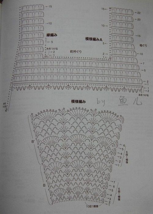 вязание верха платья фото