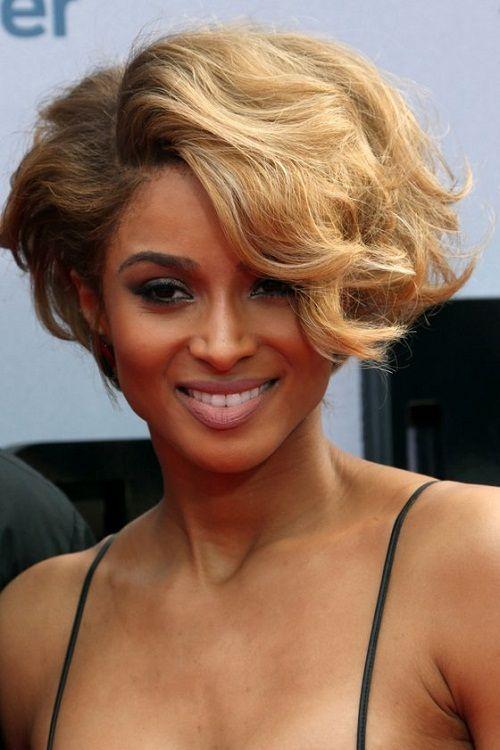прическа волна на короткие волосы фото