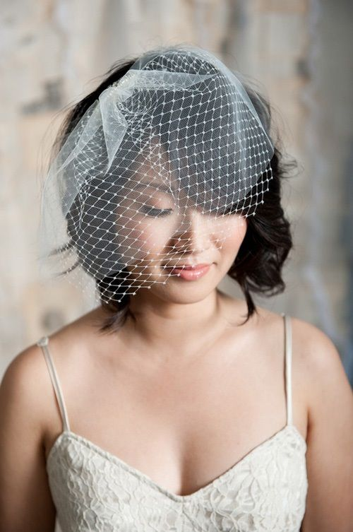 свадебная прическа с вуалью фото