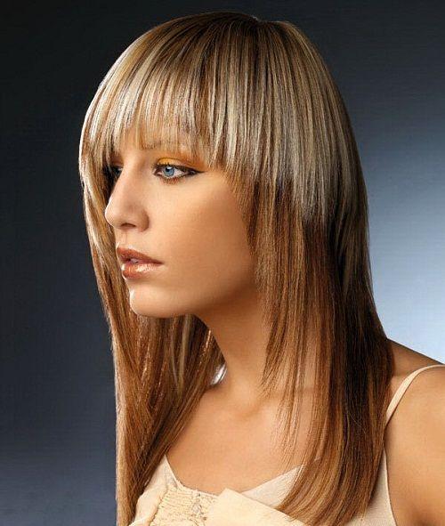 стрижка шапочка для длинных волос фото