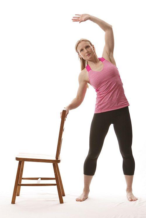 упражнения с наклонам