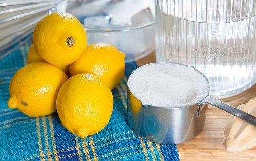 ингредиенты для лимонада фото