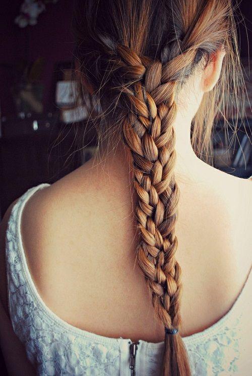 мультикоса на длинные волосы фото