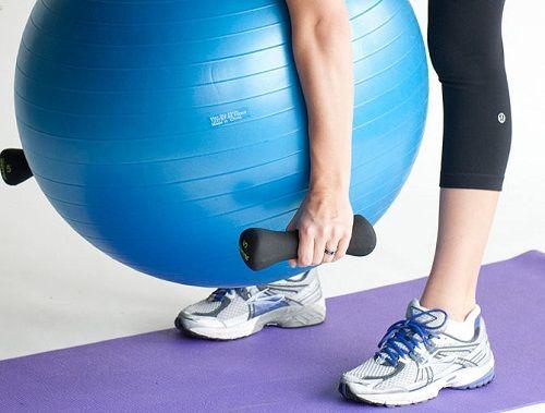 упражнение на наклоны вперед фото