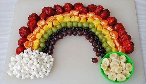 фруктовый десерт для детей фото