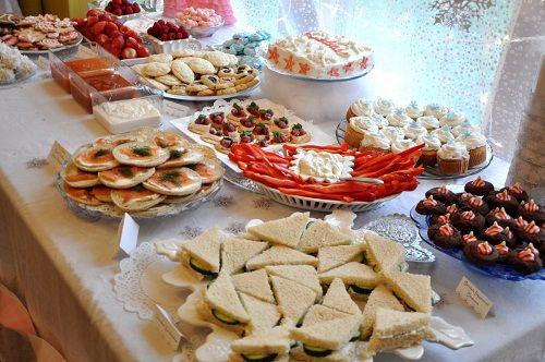 бутерброды на детский день рождения фото