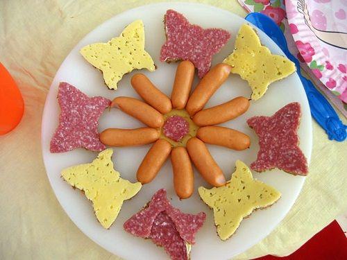 закуски на детский праздник фото