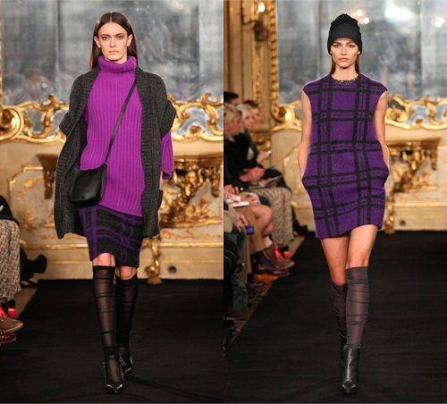сочетание фиолетового с черным фото