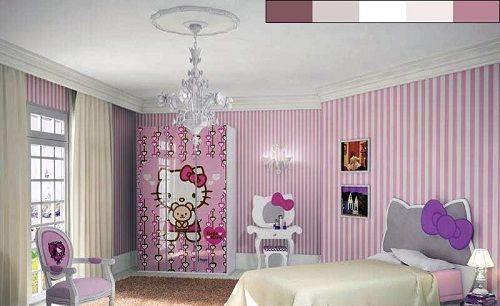 розовый в интерьере кухни фото