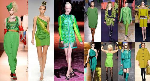 с чем носить одежду зеленого цвета фото