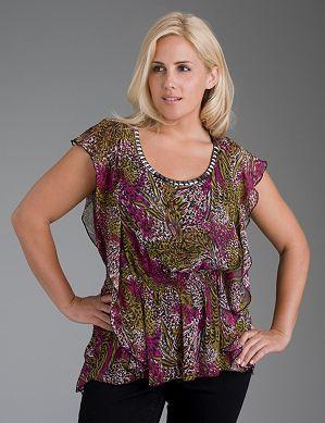 Красивый принт для блузы Фото
