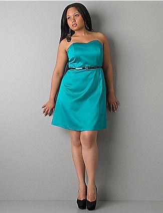 Голубое платье Фото