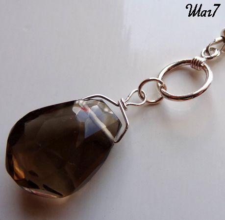 Цепляем подвеску на ожерелье фото