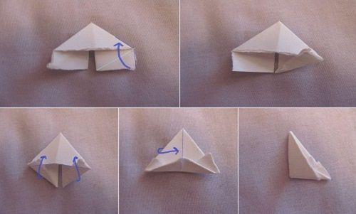 делаем треугольники фото