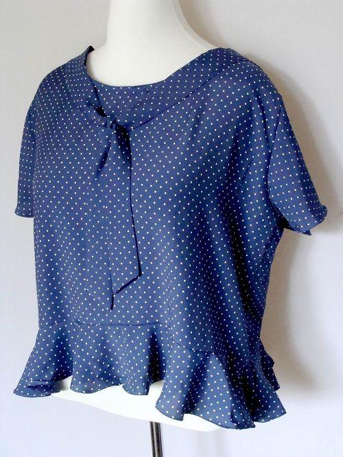 готовая блузка фото