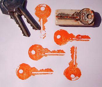 отпечатки ключа фото