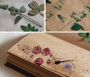 отпечатки растений фото