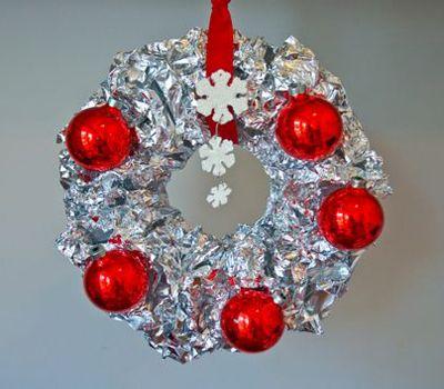 рождественский венок фото