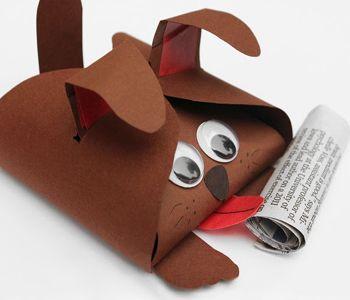 упаковка-пес фото