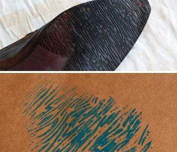 отпечатки подошвы фото