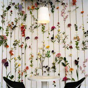 смелый цветочный декор фото