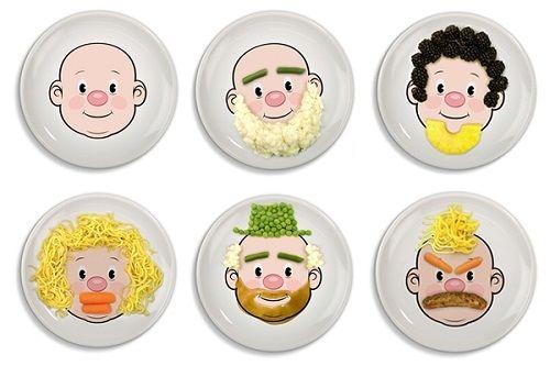 уникальная тарелка фото