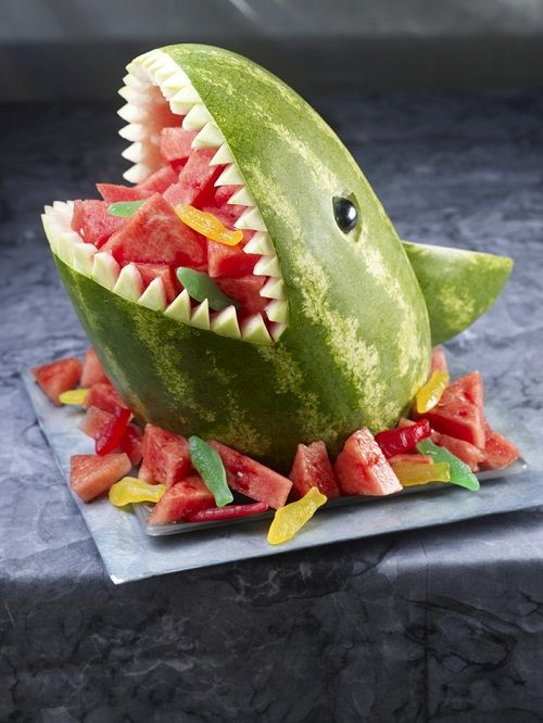 арбузная акула фото