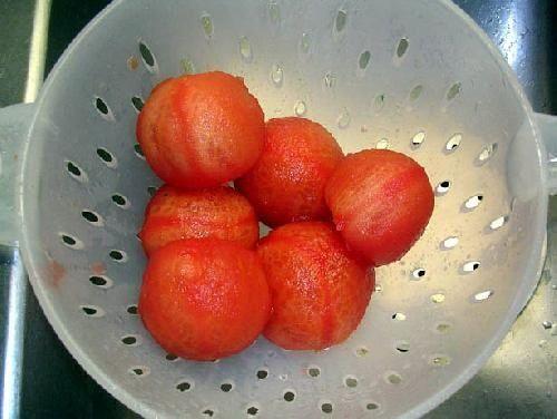 очищаем помидоры фото