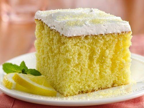 готовим кекс из лимона фото