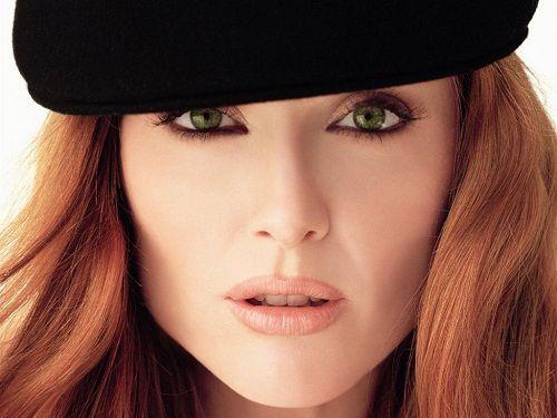 макияж с золотистыми тенями фото
