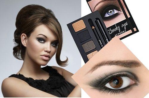 макияж для темных и светлых глаз фото