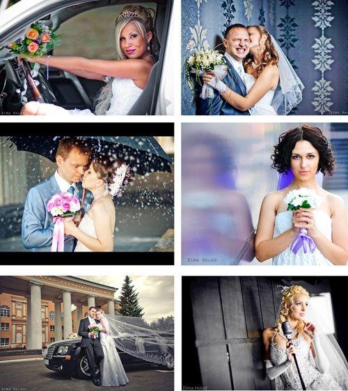 удачные позы для свадебной съемки фото