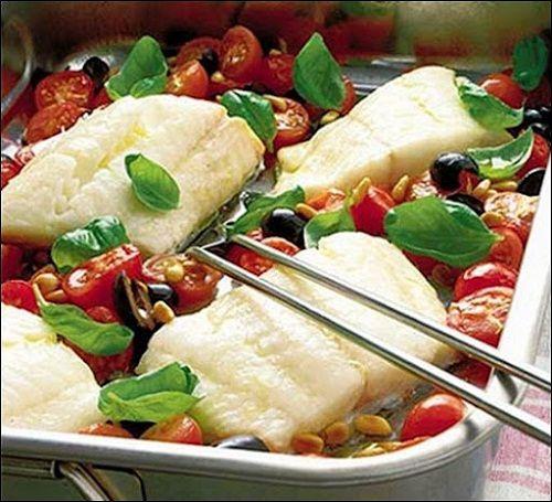 готовим рыбу по-итальянски фото