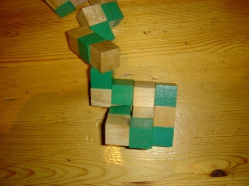 делаем кубик шаг 2 фото