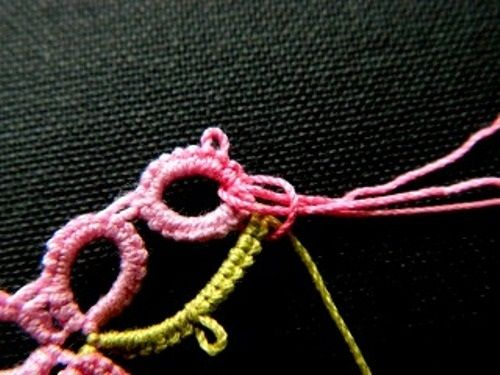 плетем узор фото