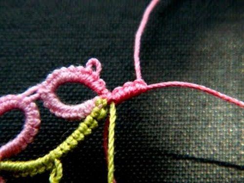 заканчиваем плетение фото